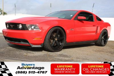 2011 Ford Mustang GT (Race Red)