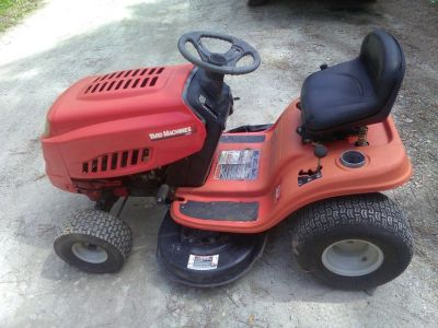 Yard Macines Riding Mower