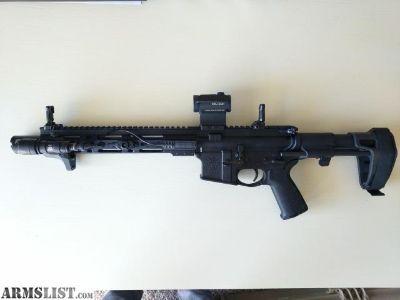 For Sale: AR Pistol 10.5in 5.56 Nato