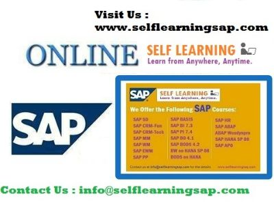 SAP all Modules Videos and Combo Course are Available in SELF LEARNING CENTER.