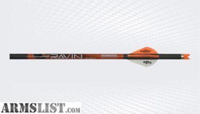 For Sale: Ravin Carbon Crossbow Arrows 400 Grain .003 Six Pack R138