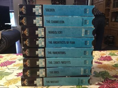 The Outer Limits VHS tapes