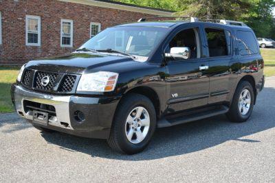2006 Nissan Armada SE (Galaxy Black Metallic)