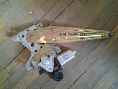 Sell 93 94 95 96 97 TOYOTA COROLLA DRIVER LEFT REAR POWER WINDOW REGULATOR & MOTOR motorcycle in Orem, Utah, US, for US $16.00
