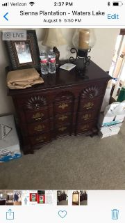 Lineage Chest with Mirror