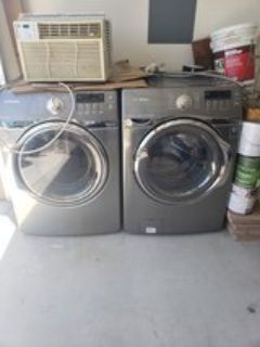 Washer & Dryer set (all electric) - Imperial Beach