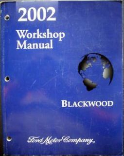 Buy 2002 Ford Truck Shop Service Manual Lincoln Blackwood Repair Maintenance Dealer motorcycle in Holts Summit, Missouri, United States, for US $29.99