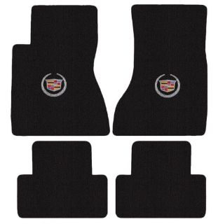 Find Cadillac CTS No AWD Sedan Floor Mats Crest Logo Ebony with Silver on Fronts motorcycle in Northridge, California, United States, for US $119.80