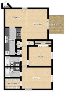 $1065 2 apartment in Charleston County
