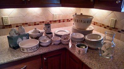 Pfaltzgraff Naturewood Dishes