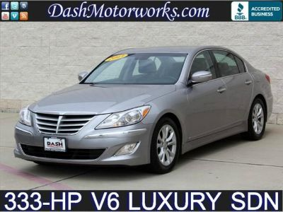 $19,985, 2013 Hyundai Genesis Luxury Sedan