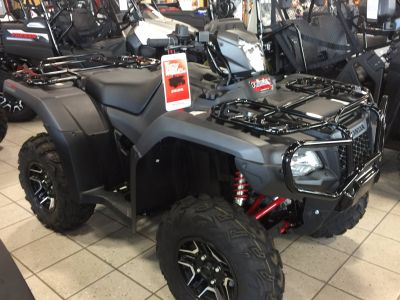 2017 Honda FourTrax Foreman Rubicon 4x4 DCT EPS Deluxe Utility ATVs Troy, OH