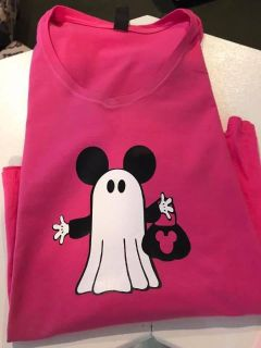 Mickey ghost Trick or Treat shirt