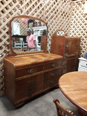 Waterfall Dresser with Mirror and Chest of Drawers at Brass Bear 2652 Valleydale Rd Birmingham--Hoover area AL 35244