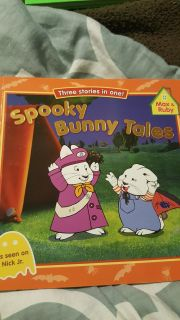 MAX& RUBY 3 STORIES IN ONE..SPOOKY BUNNY TALES