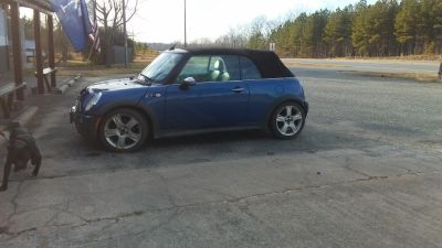 2007 mini cooper covertable 2 door..
