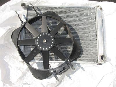Aluminum Radiator&Fan
