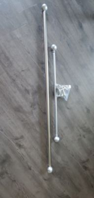 Silver Curtain Rods