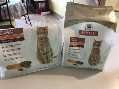 Science Diet Adult Light Hairball Control Cat Food