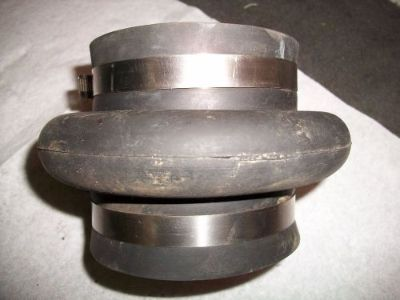 "Sell Exhaust Bellow 4"" x 4"" and 4"" long motorcycle in Independence, Missouri, United States, for US $20.00"