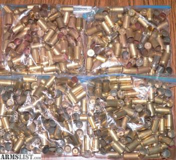 For Sale: 45 acp once fired Brass