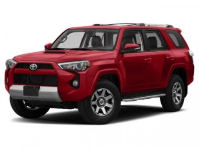 2019 Toyota 4Runner SR5 (BARCELONA RED)