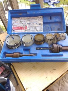 Lenox holesaw 8pc set