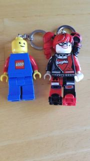 Lot of 2 Lego Minifigure Keychains with Light $1