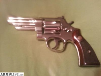 For Sale/Trade: Smith&Wesson model 28 nickel .357, S series, diamond grips