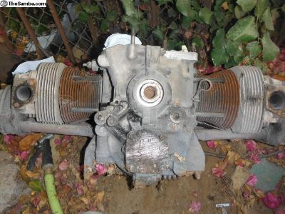 VW long block motor