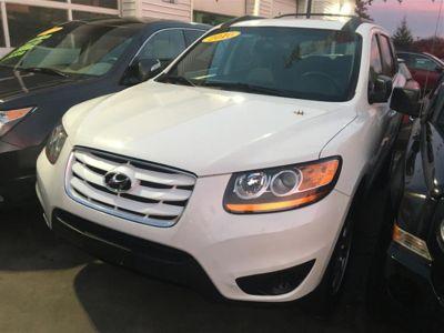 2010 Hyundai Santa Fe GLS (White)