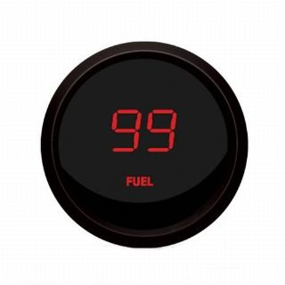 Purchase Intellitronix Universal Digital Fuel Level Gauge Red / Black Bezel M9016-R USA motorcycle in North Olmsted, Ohio, United States, for US $48.95