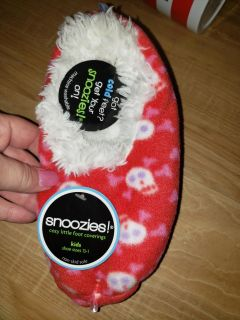 Brand new snoozies slippers size 13/1 kids