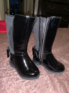 Little girl winter/riding boots size 4