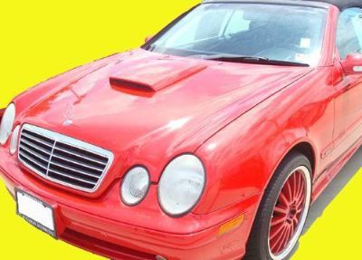 Sell Mercedes CLK-Class Hood Scoop w/ ABS Plastic Grill NEW motorcycle in Grand Prairie, Texas, US, for US $99.99