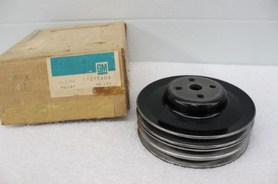 Find NOS 1968, 1969, 1970 Oldsmobile F-85 442 W-30 Hurst 3Groove Pulley KF 399404 dp motorcycle in Hays, Kansas, United States, for US $100.00