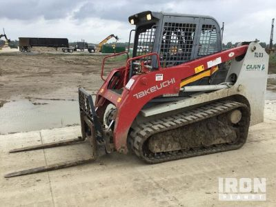 2014 Takeuchi TL12 Compact Track Loader