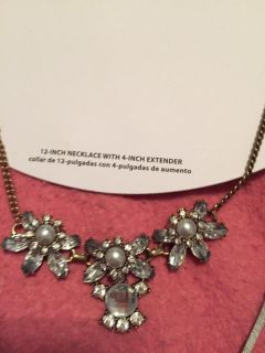 New 12 inch necklace with 4 inch extender