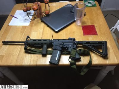 For Trade: Sig M4 (Night Sights, Magpul)