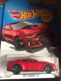 4 if the 5 car set from hot wheels 50 anniversary if the camaro
