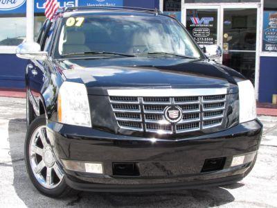 2007 Cadillac Escalade EXT Base (Black Raven)