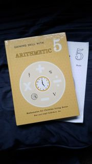 Rod and Staff Arithmetic 5 textbook
