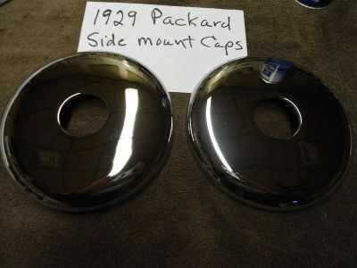 Sell 1929 Packard Side Mount Hubcaps motorcycle in La Crosse, Wisconsin, US, for US $400.00