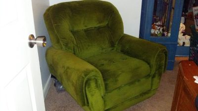 Vintage Lazy Boy Swivel Rocker