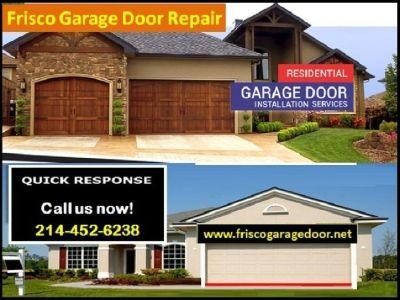 Instant Response on Garage Door Repair Services Frisco 75034