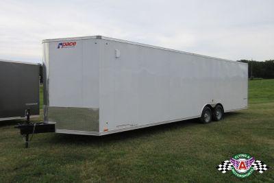 2020 Pace American 28' Cargo Sport Bull Nose Car Hauler