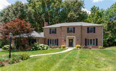 7606 Brookview Lane Indianapolis Five BR, A stately brick ranch
