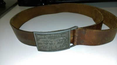 Vintage Levi's leather belt