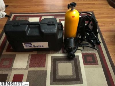 For Sale/Trade: North series 800 Self Contained Positive Pressure Breathing Apparatus
