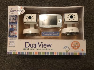 Dual view baby monitor
